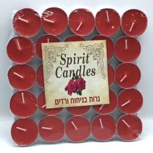 נרות ריחניים ניחוח ורדים