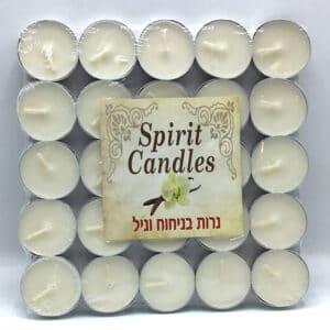 נרות ריחניים ניחוח וניל