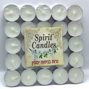 נרות ריחניים ניחוח יסמין
